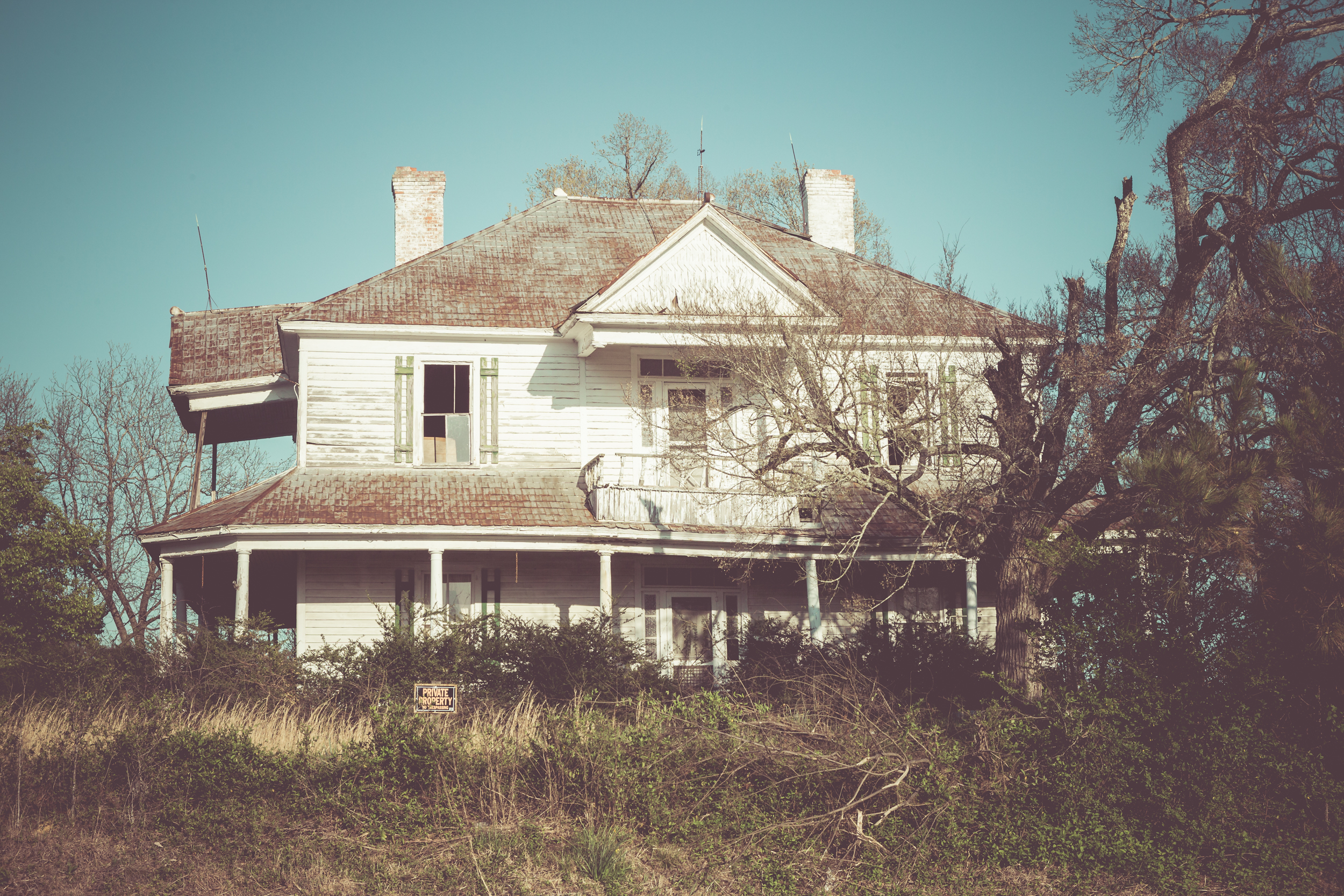 ©jennifer bailey 2015 abandoned house, south carolina