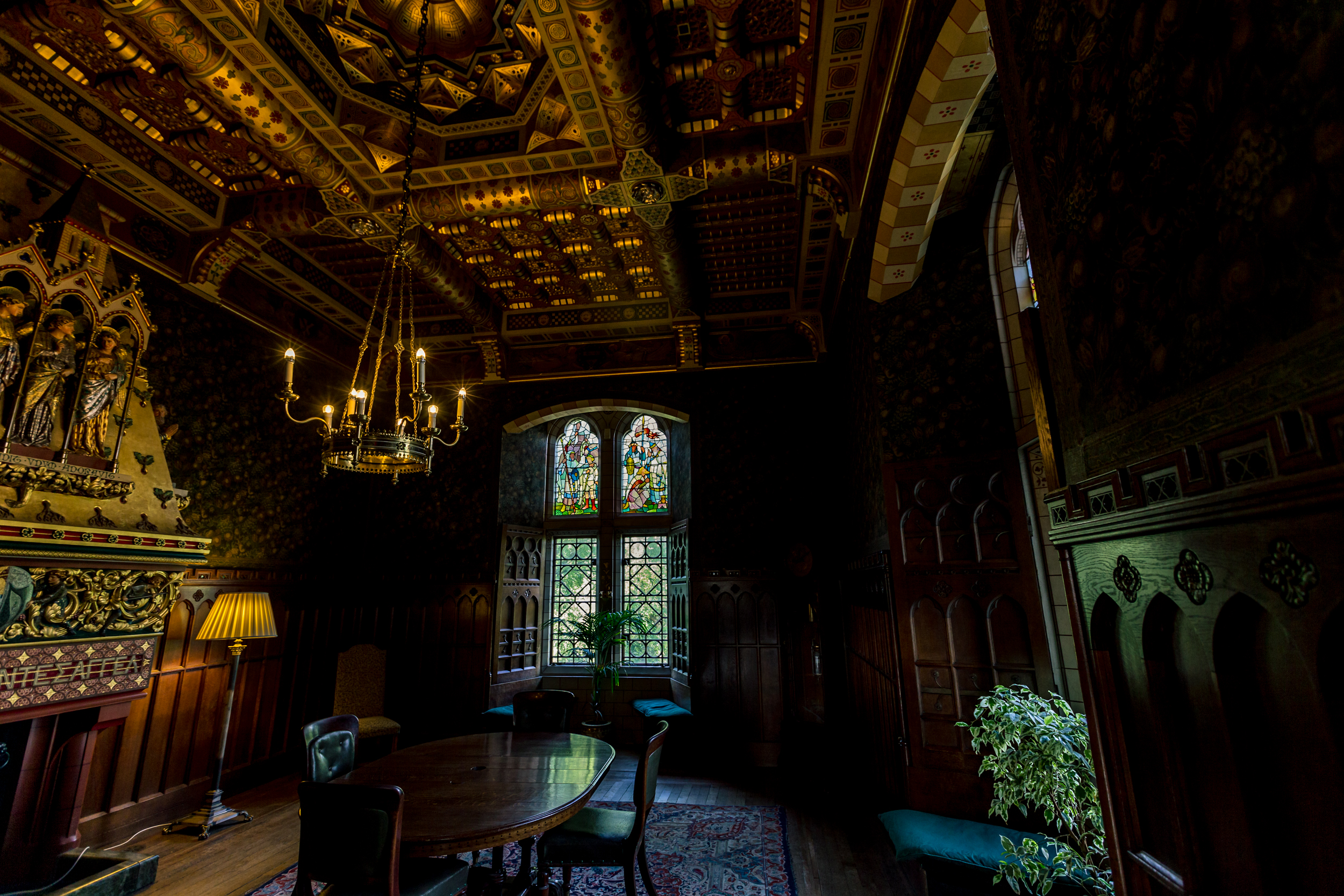 cardiff castle parlor