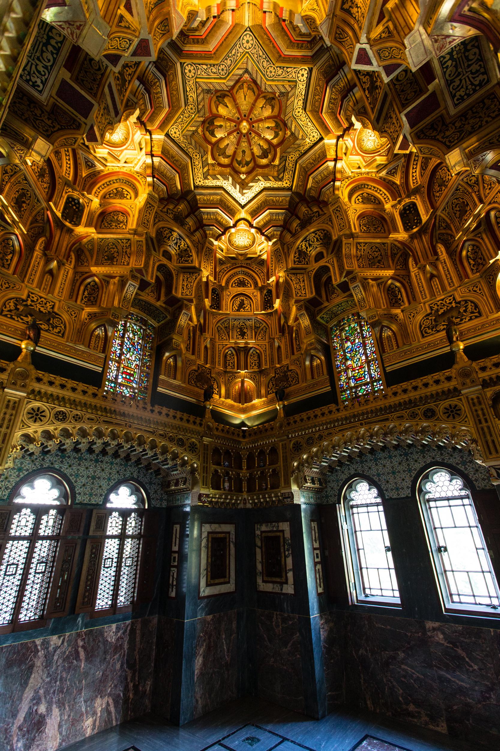 cardiff castle arab room