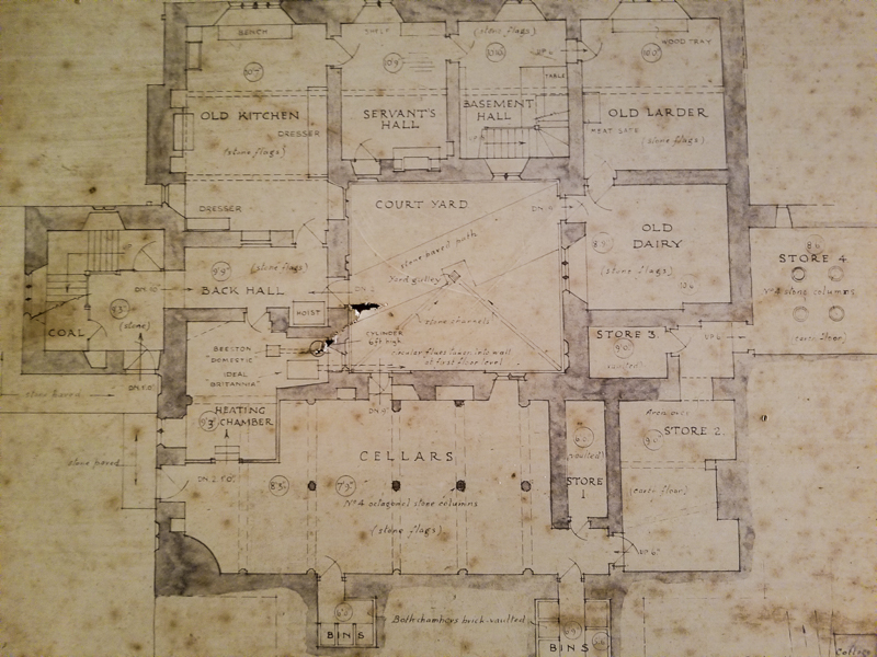 Chastleton House Plan © jennifer bailey 2017