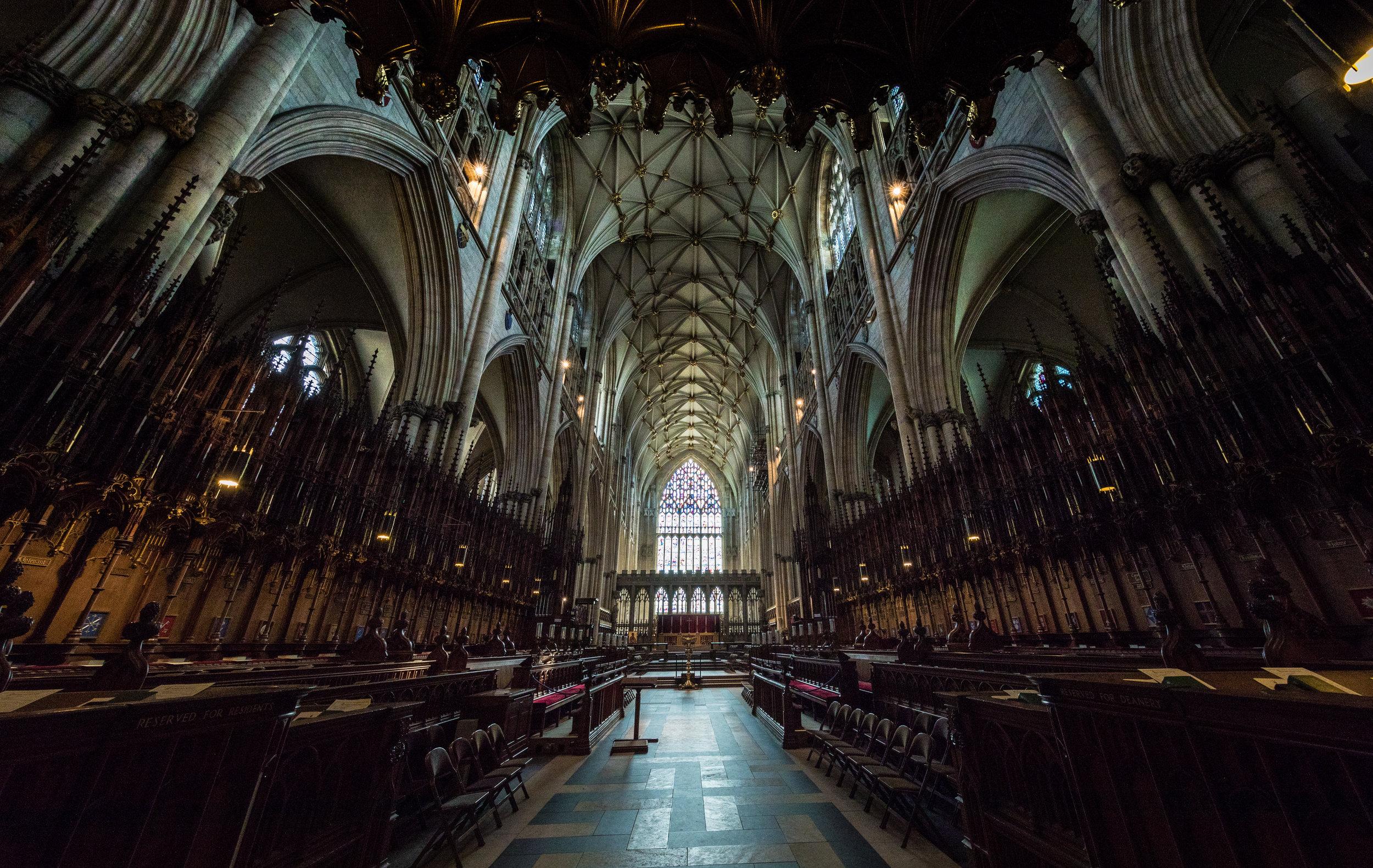 york minster choir, ©jennifer bailey 2018
