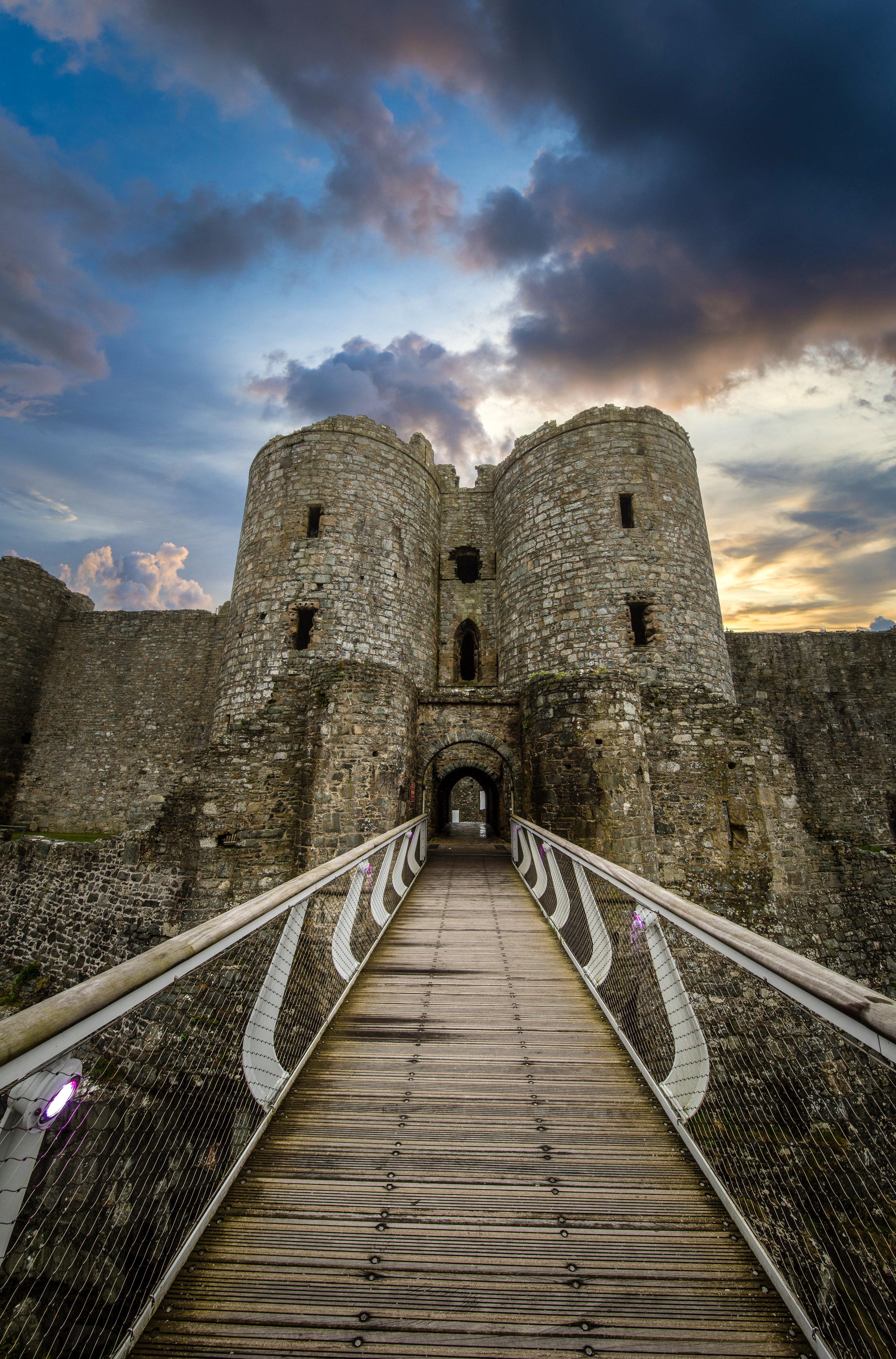 harlech castle entrance ©jennifer bailey 2018