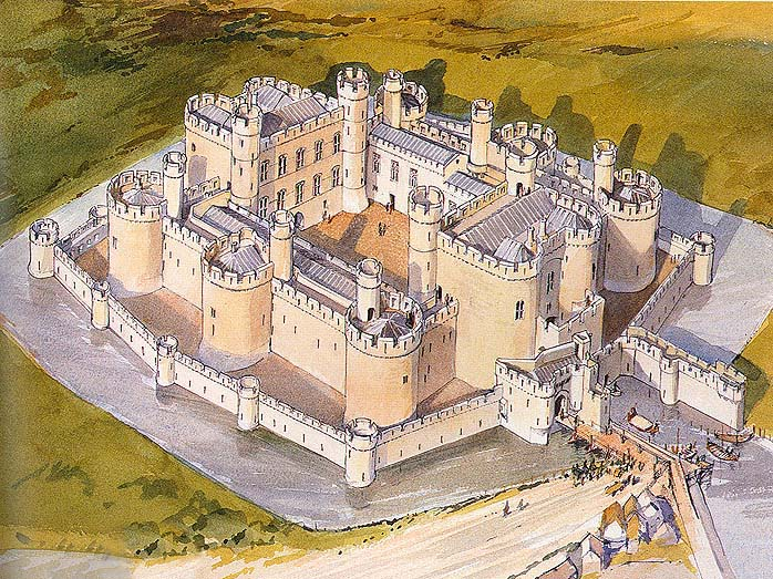beaumaris castle, if it had been completed.