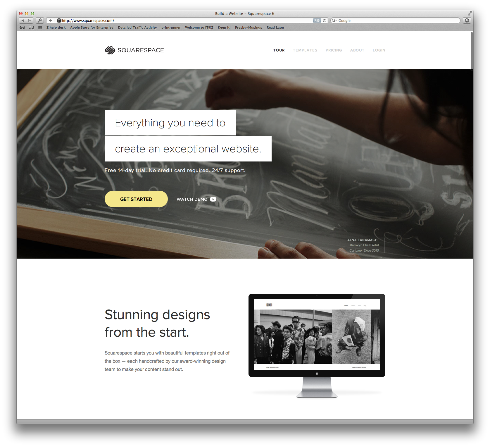 The new Squarespace