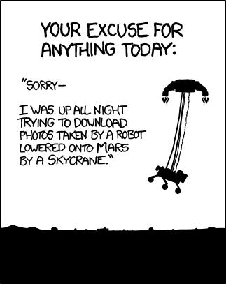 XKCD Curiosity Comic