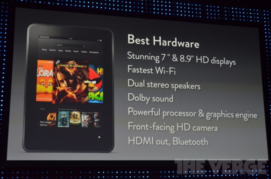 The Kindle Fire HD