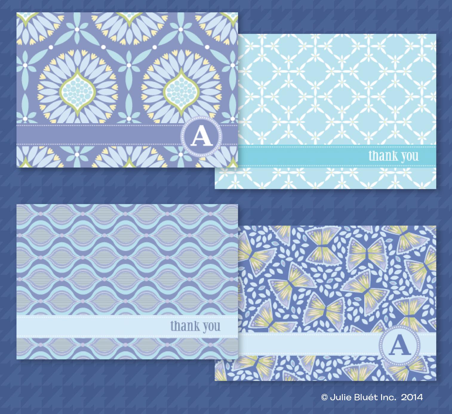 Seaside Bloom Note Cards