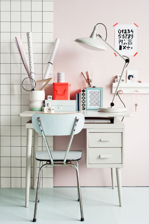 Small Creative Space from Pinterest
