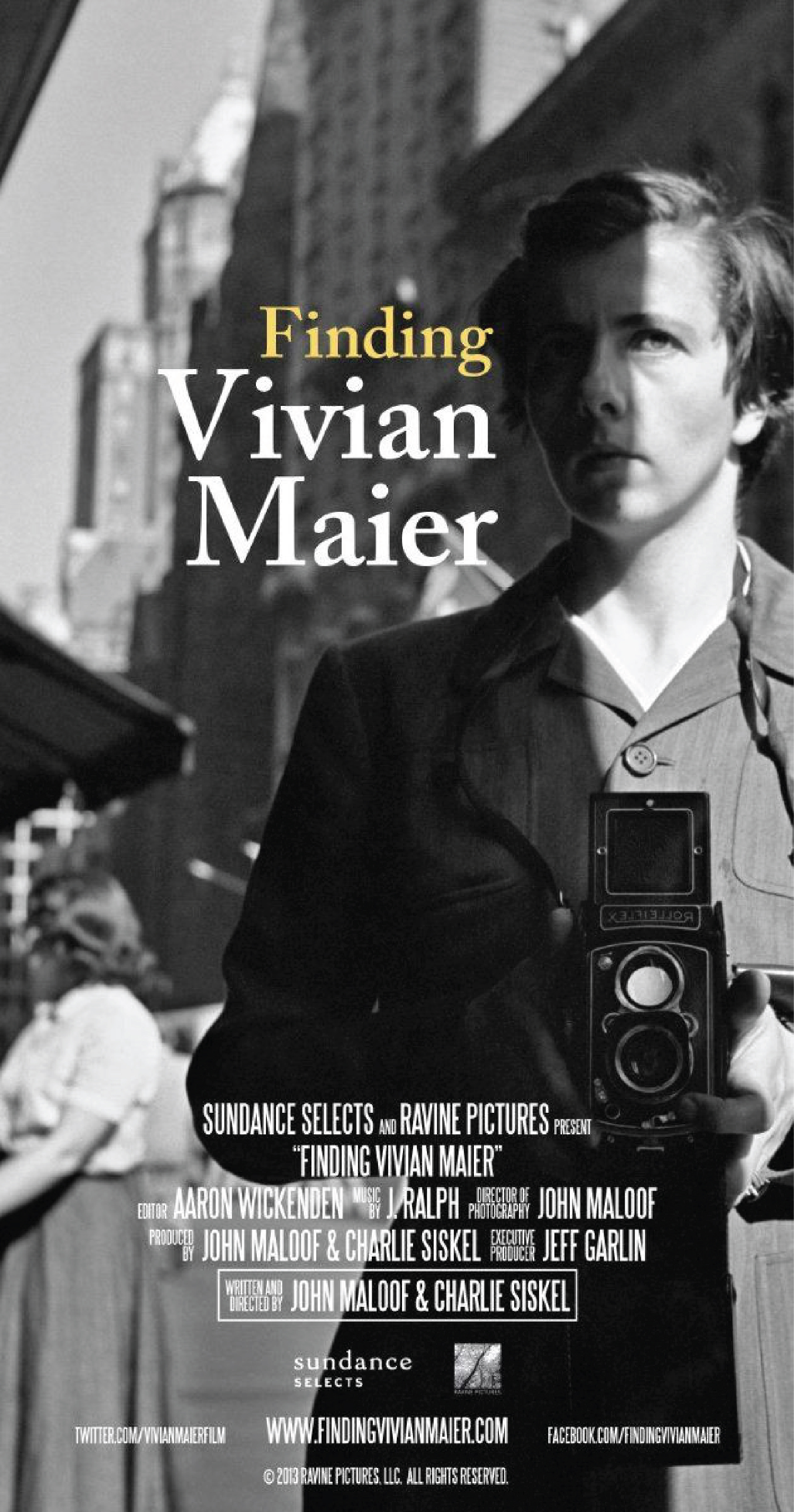 Promotional Poster for  Finding Vivian Maier