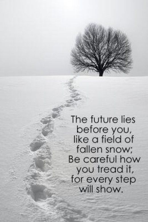 The Future Lies Before You Quote