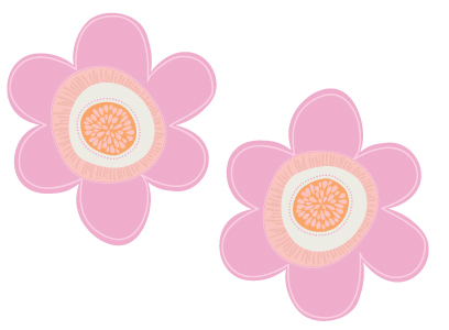Two Flower Symbols