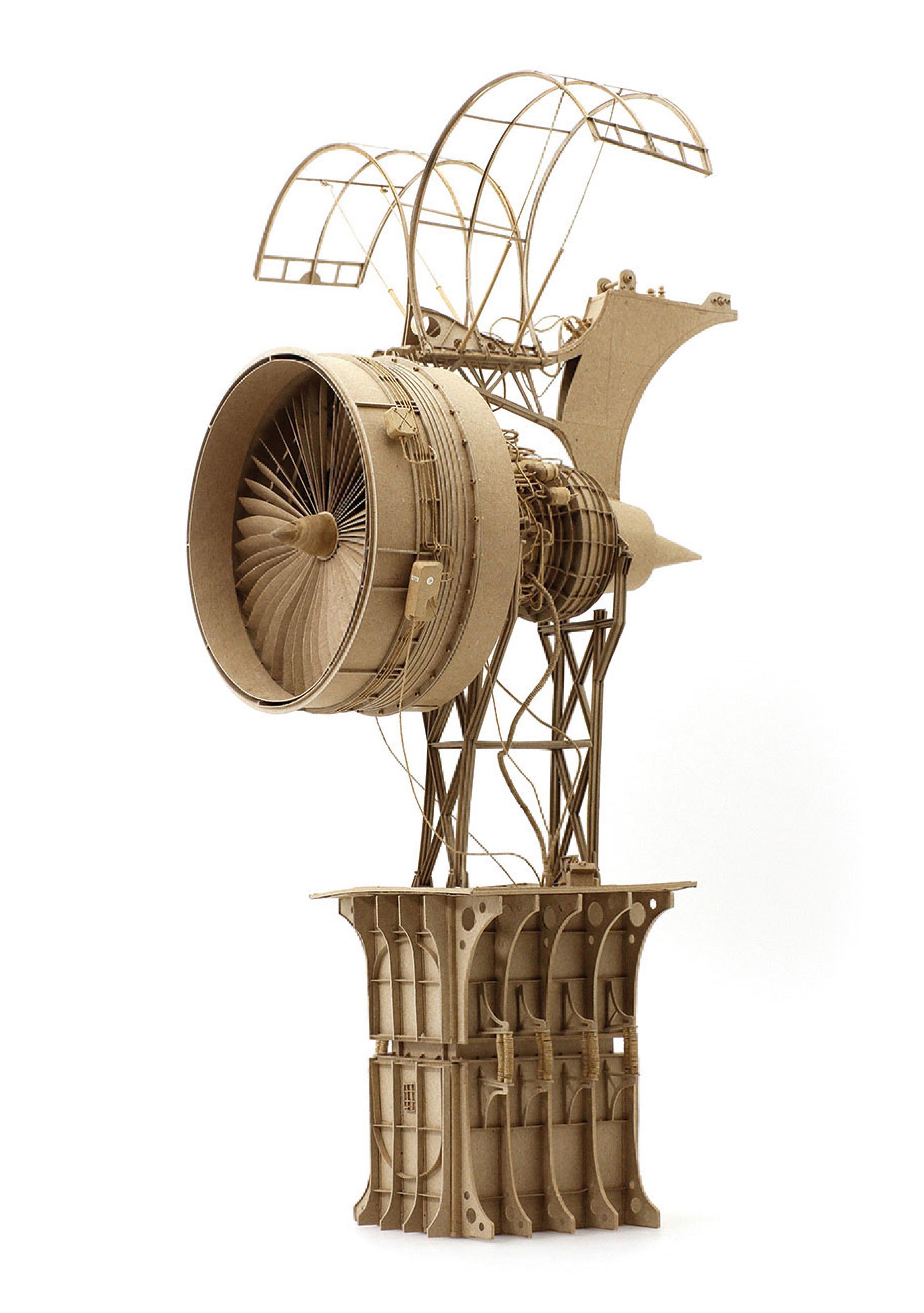 Daniel Agdag Paper Sculpture