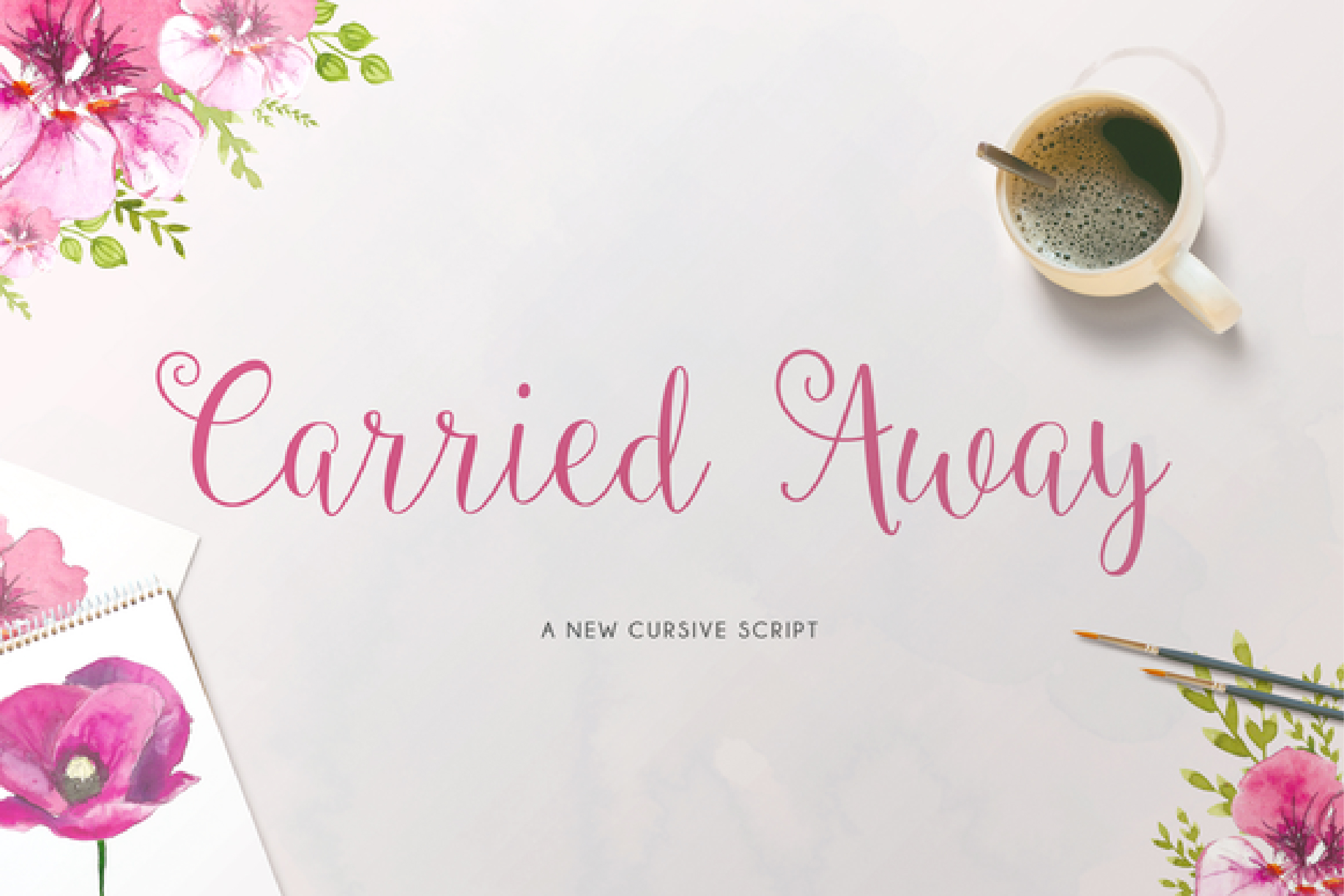 Carried Away Font