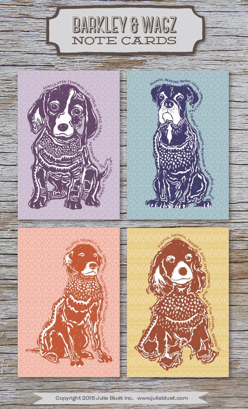 Barkley & Wagz Note Cards