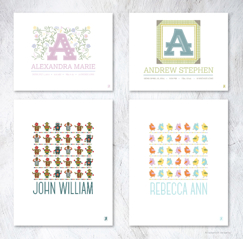 Personalized Art Prints for Kids