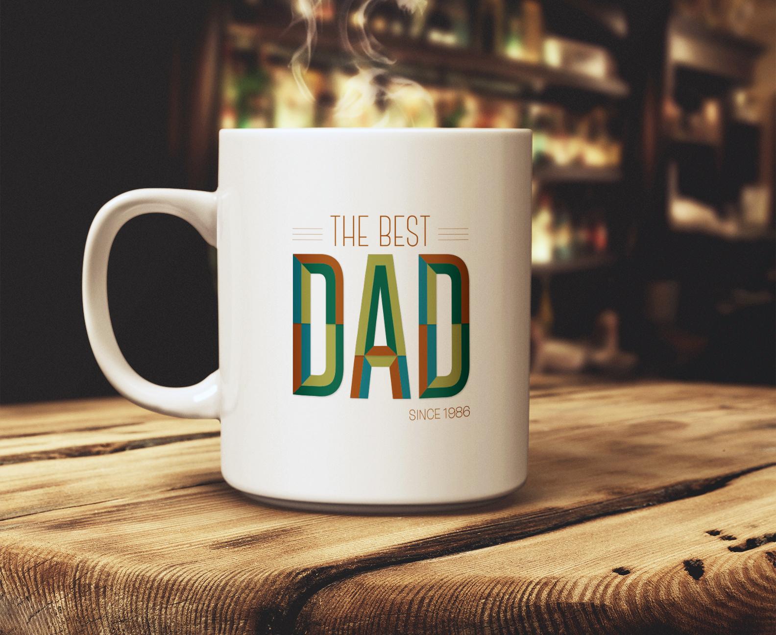 The Best Dad Mug