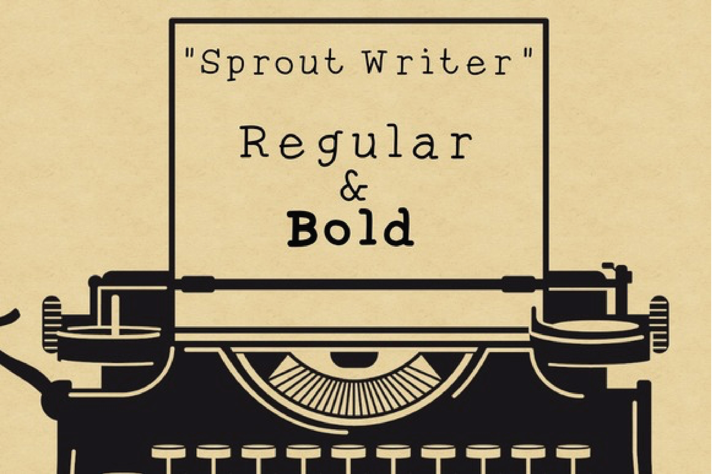 Sprout Writer Typeface
