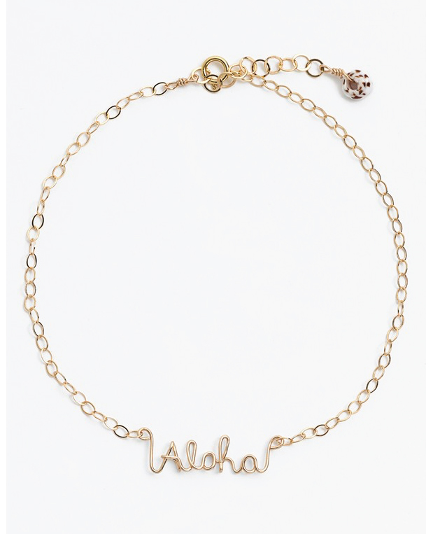 Aloha Anklet from Nordstrom