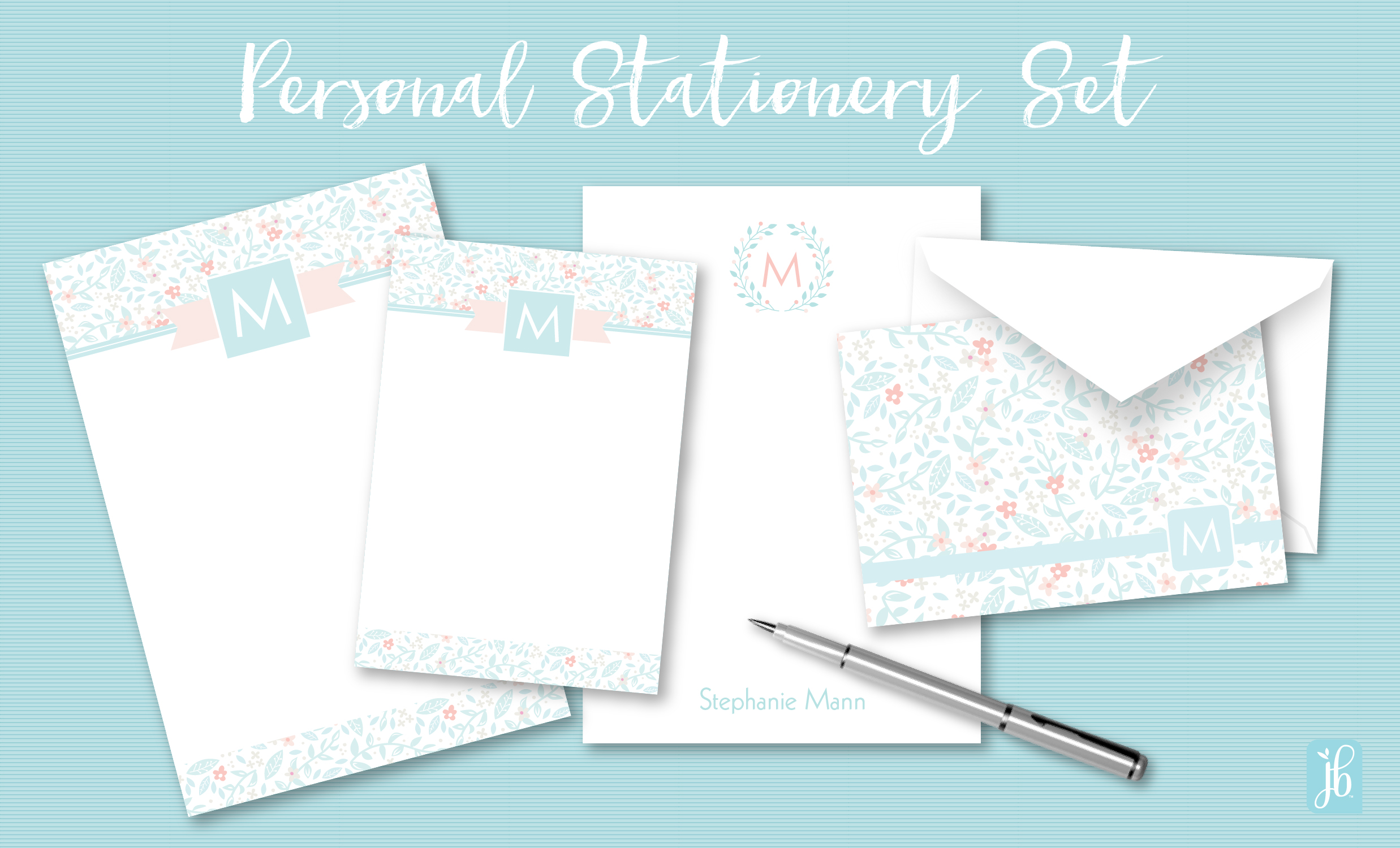 Personal Stationery Set