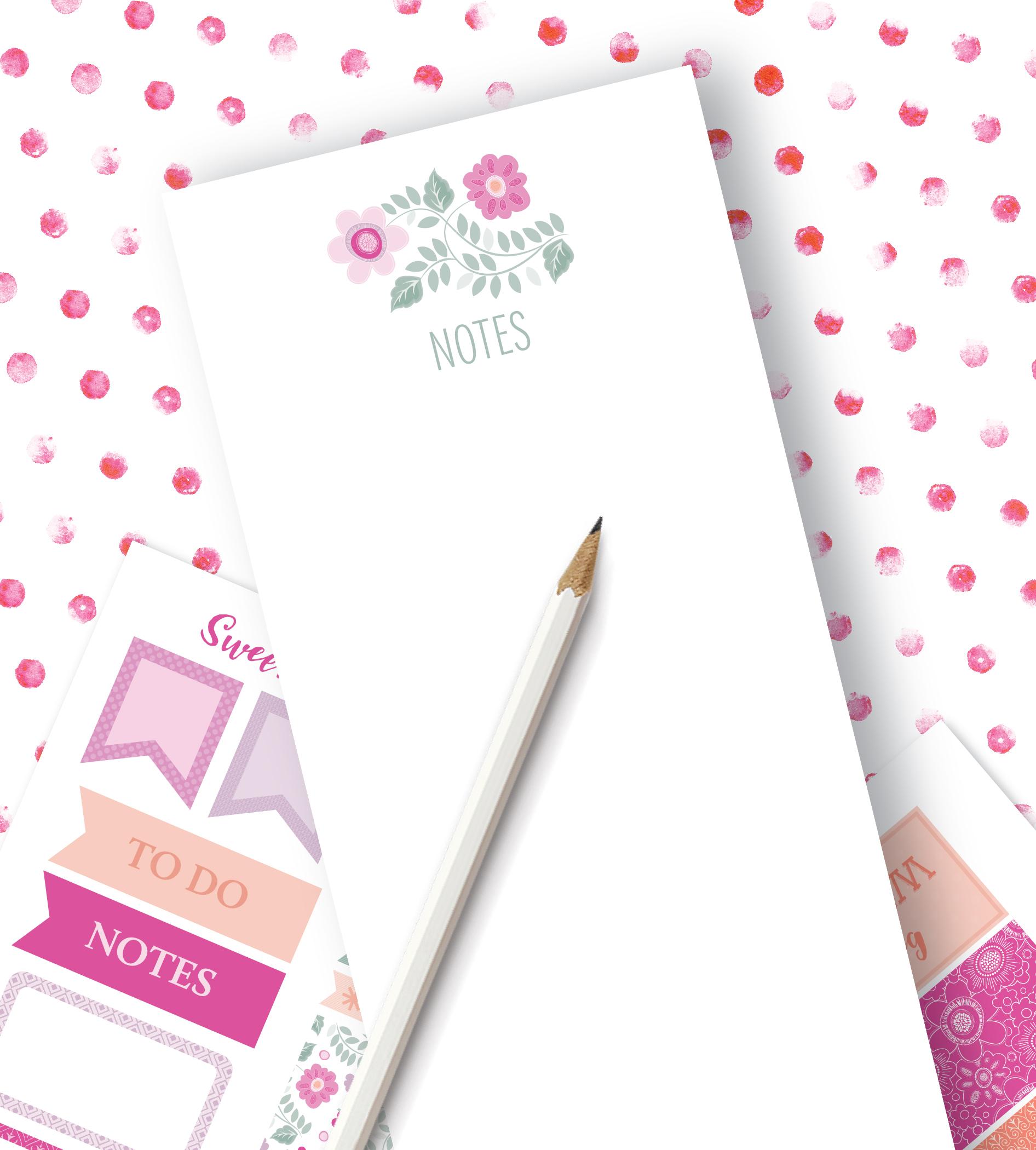Sweet Jasmine Note Pads