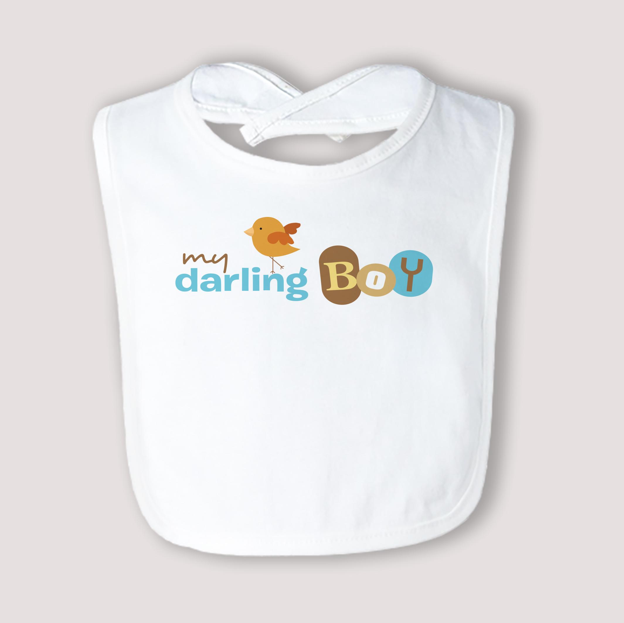 Darling Boy Bib