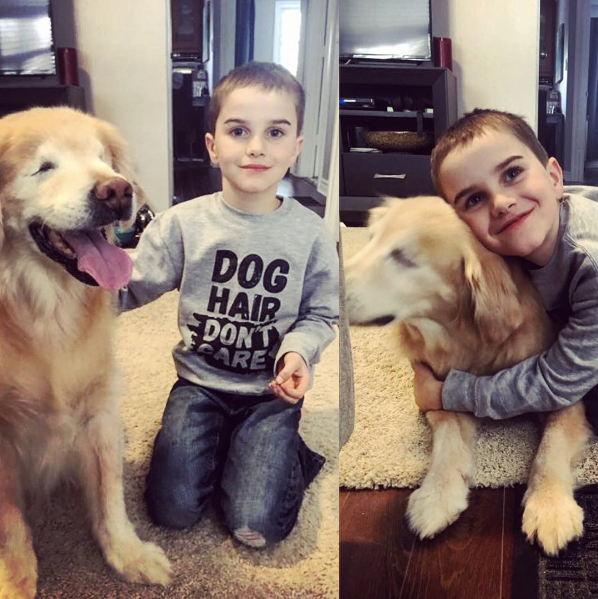 Just recently one of our crowning achievements was getting @Mysmileydog & @Barkleyandwagz apparel in the same photo.   From Smiley The Blind Therapy Dog on Instagram