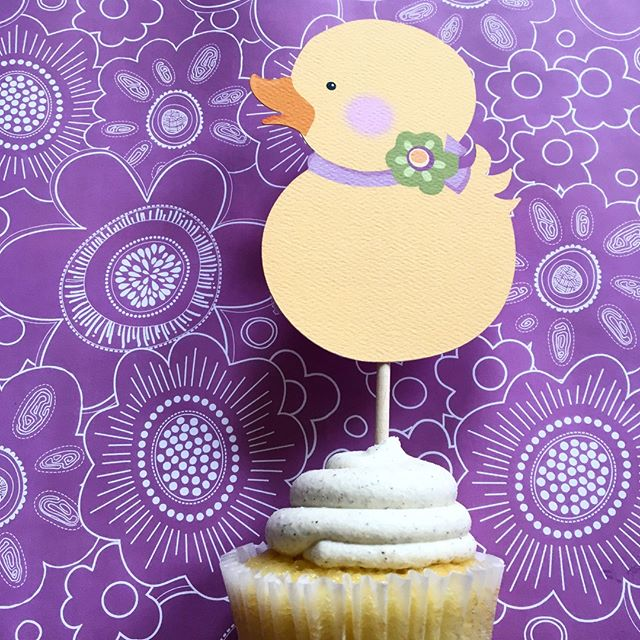 Our cupcake toppers are the perfect finishing touch to your party decor. Shop at www.juliebluet.com or https://buff.ly/2IfuWqv #partydecor #partysupplies #birthdayparty #cupcaketoppers #customparty  #etsyhandmade
