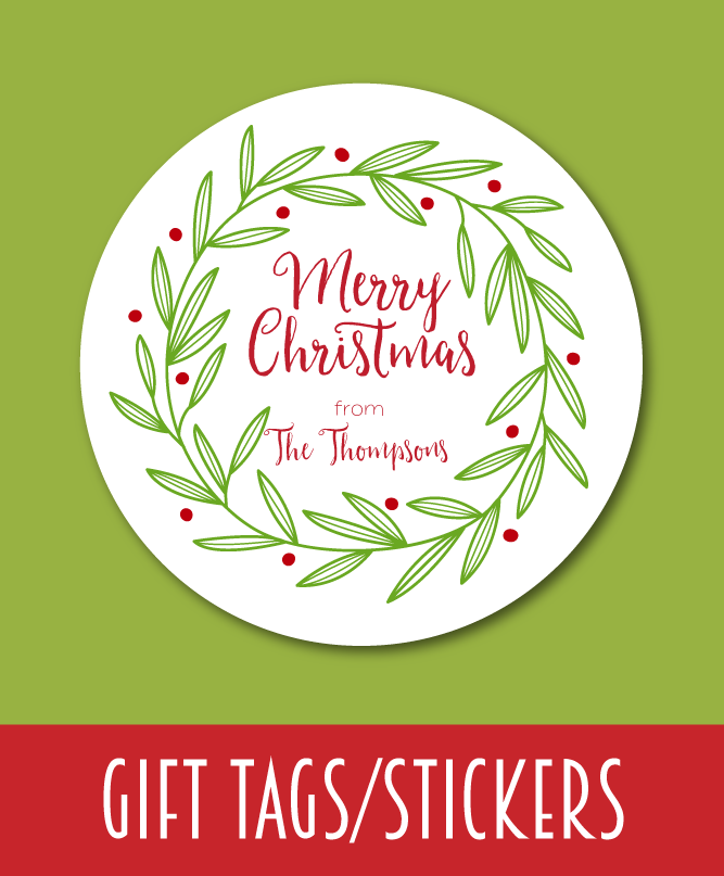 Christmas Gift Tags and Stickers