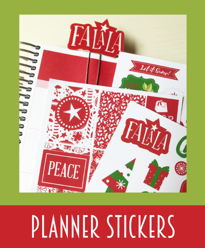 Christmas Planner Stickers