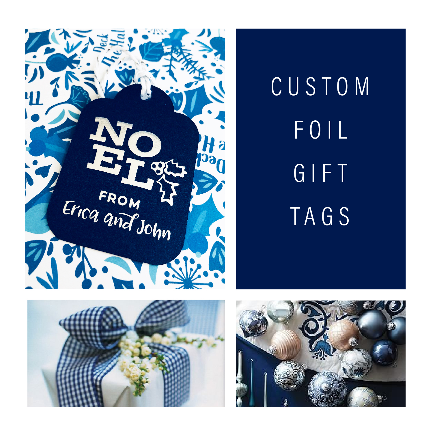 Foil Gift Tags