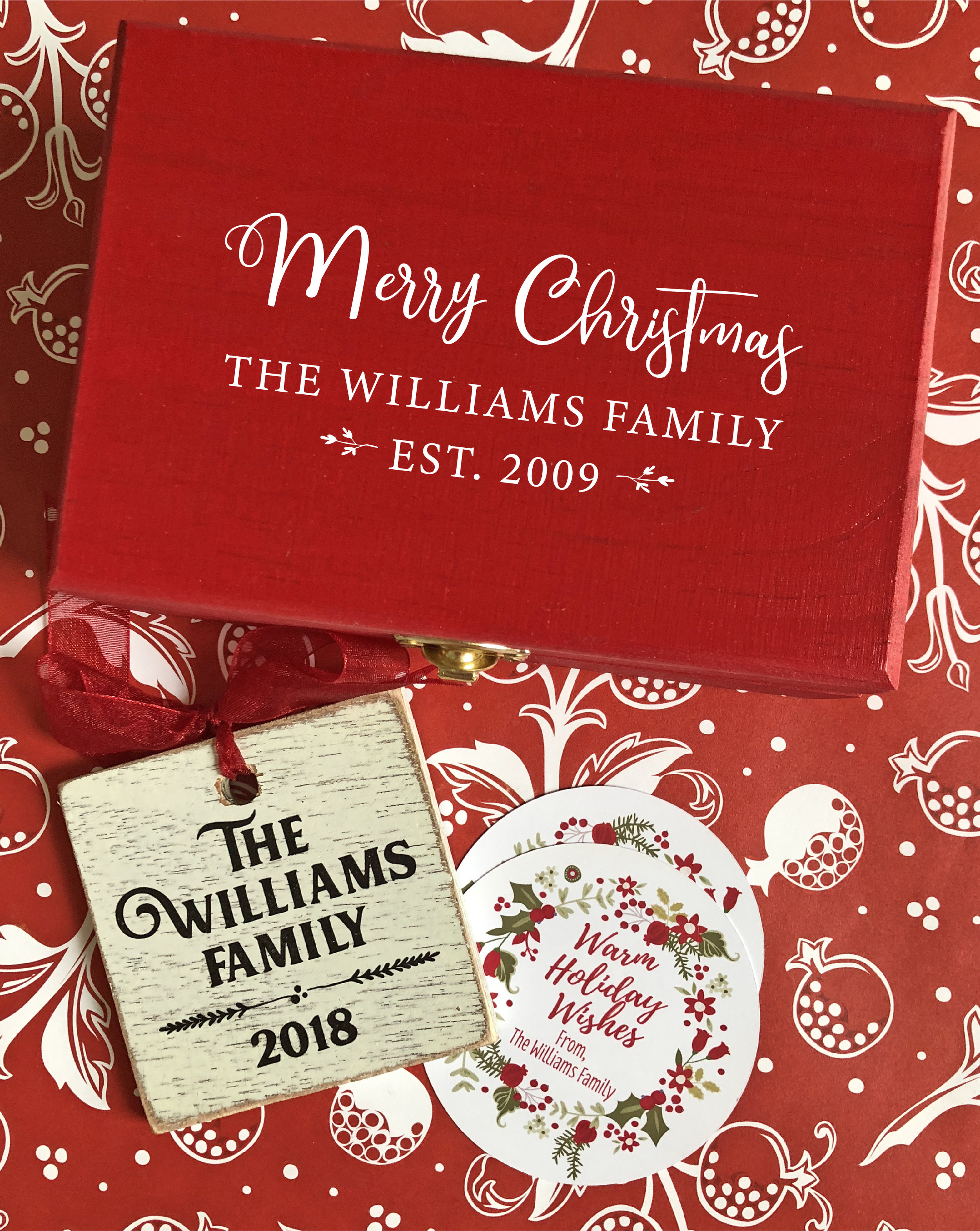 Christmas Ornament Gift Set