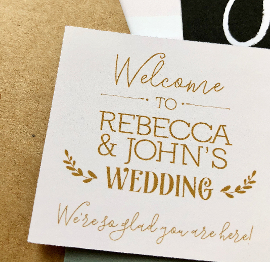 Wedding Favor Stickers and Tags