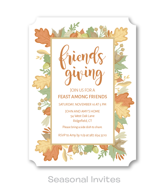Seasonal Invites