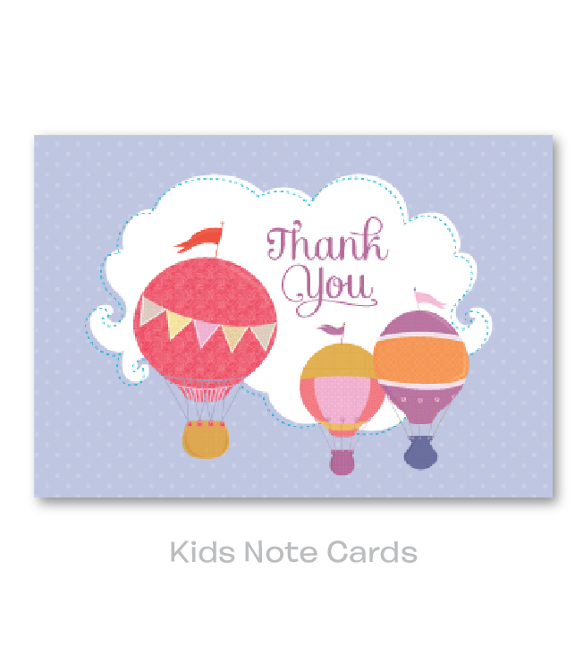 Kids Note Cards