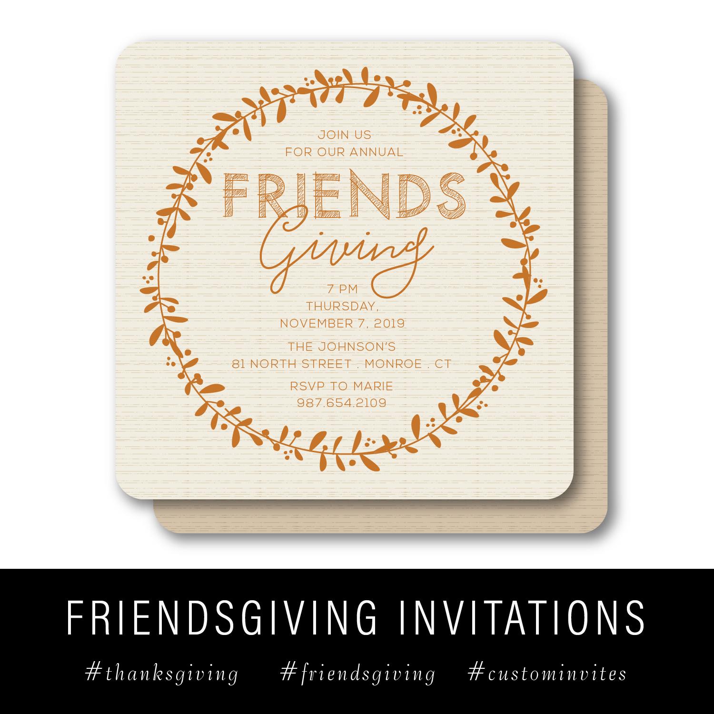 Friendsgiving Invites