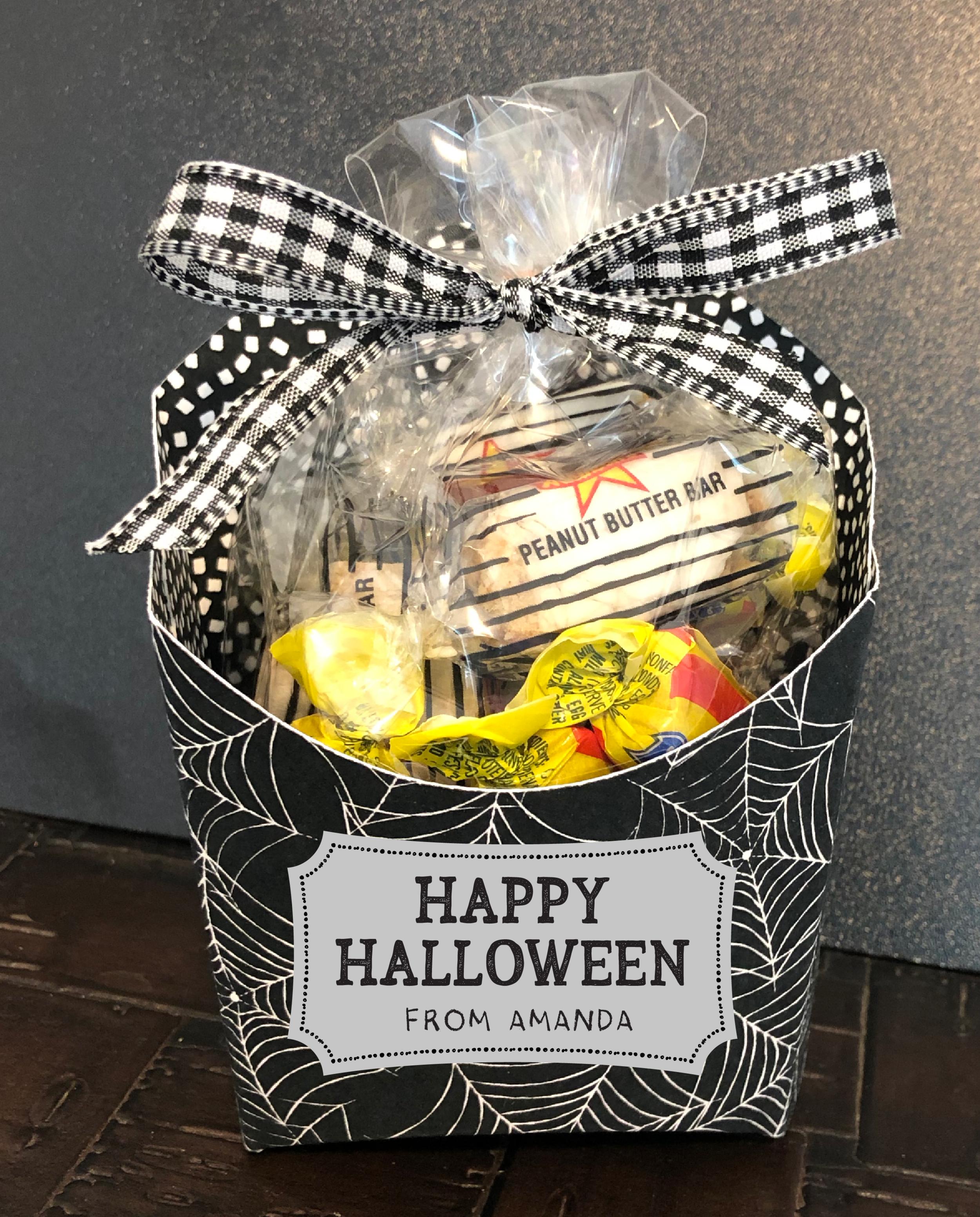 Halloween Fry Box