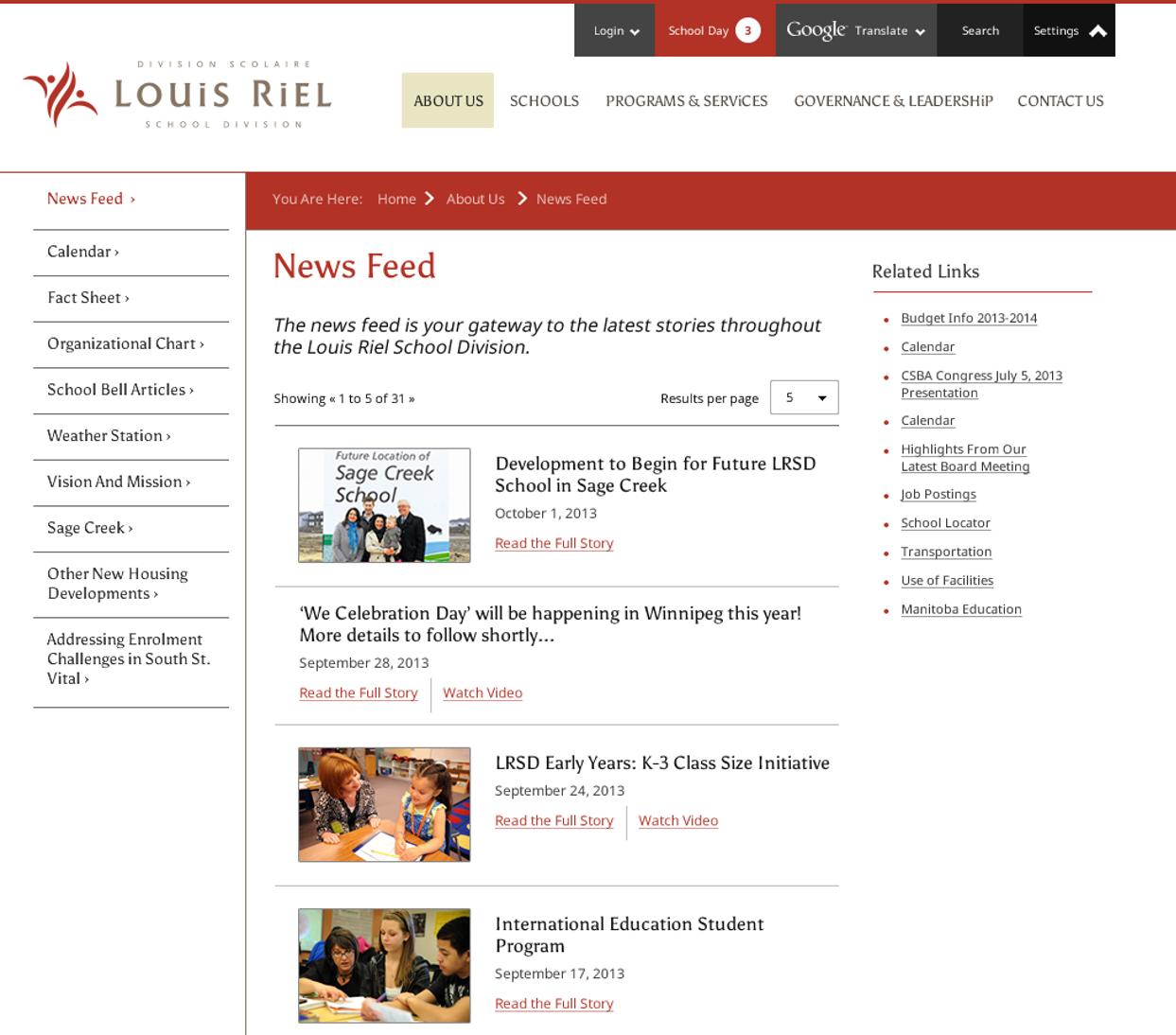 LRSD News Feed