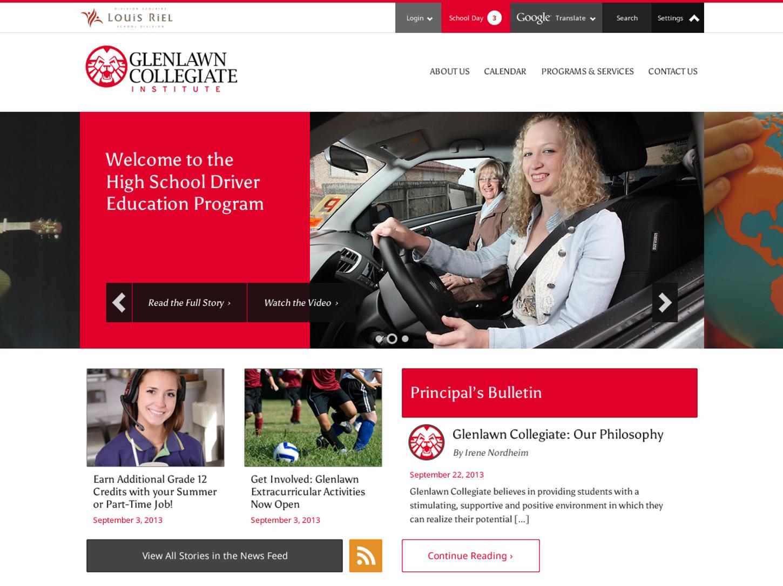 School Site Homepage