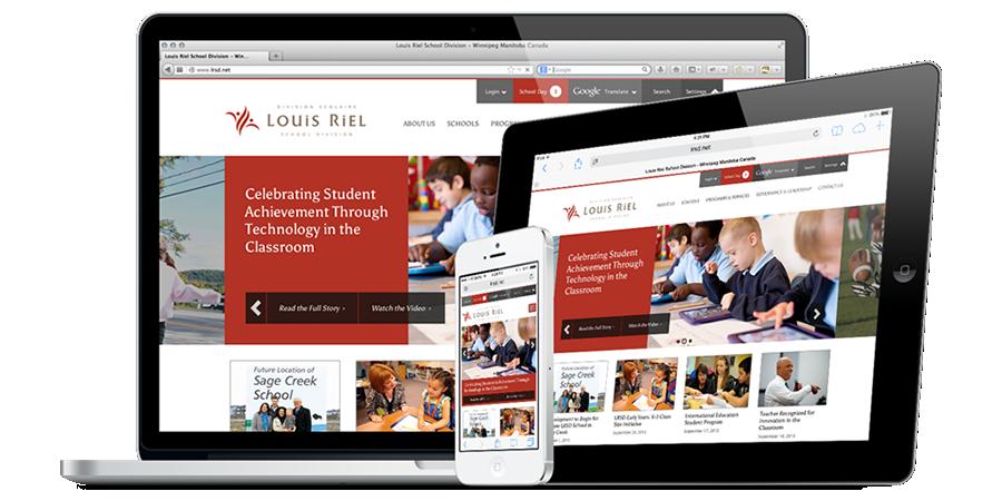 Louis Riel School Division Website