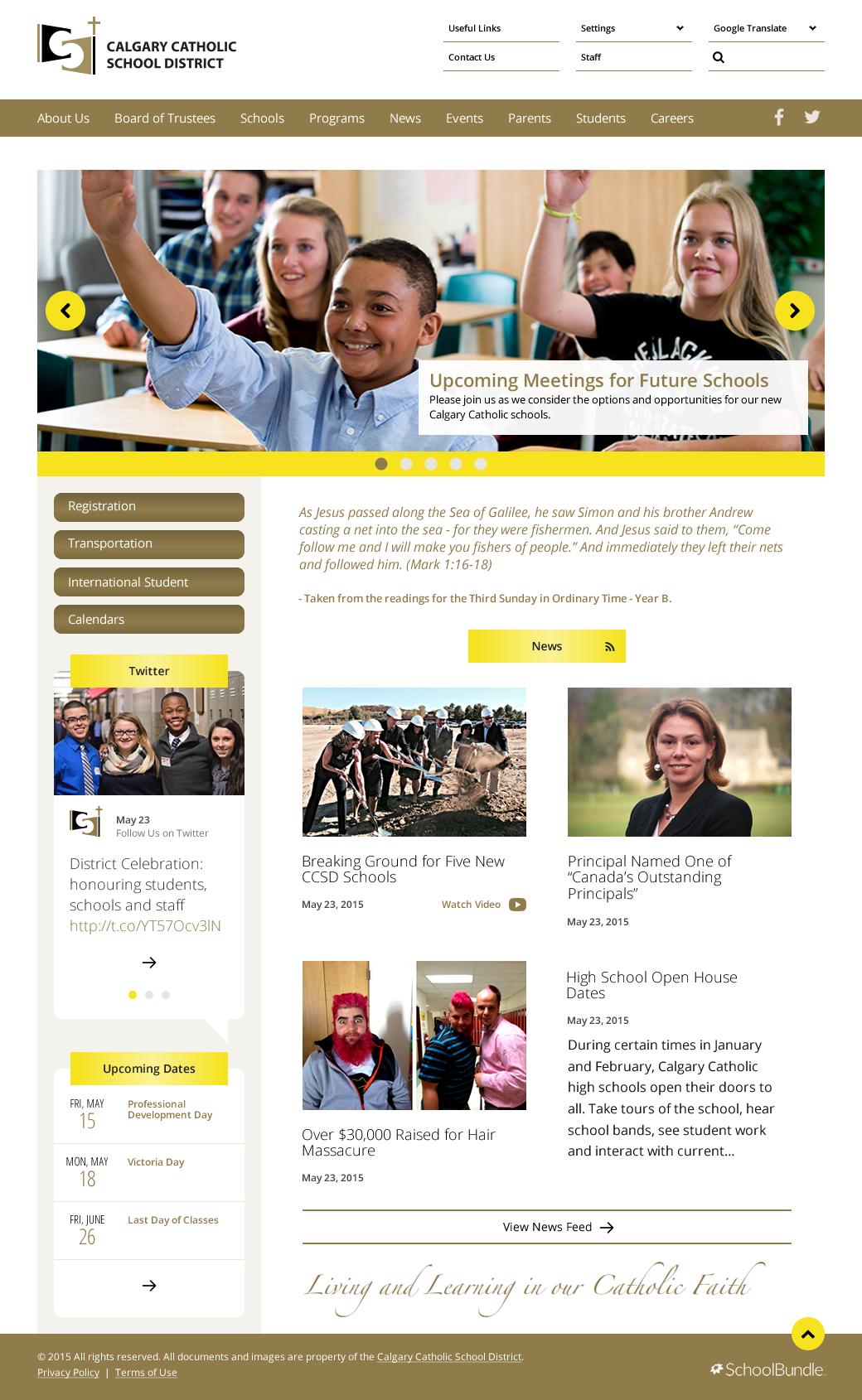 CCSD Homepage