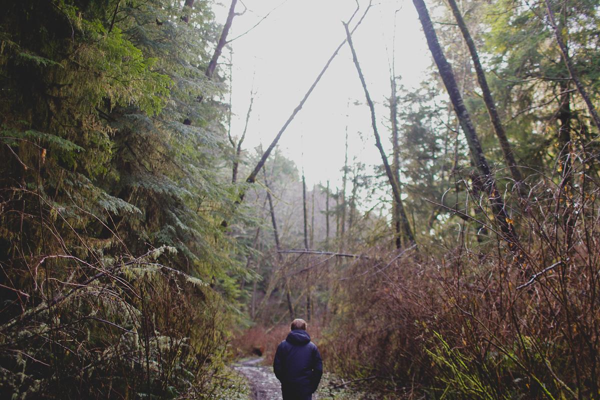 day two: hikin the muck trail to Shi Shi Beach