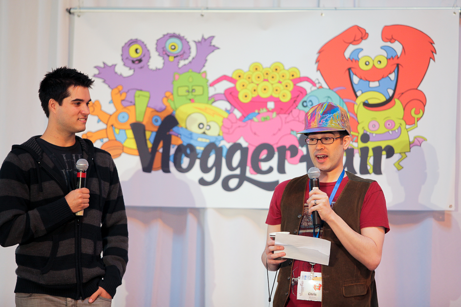 Chris Pirillo presents at the first ever Vlogger Fair in Seattle Saturday June 8 at the Port of Seattle Terminal 5.