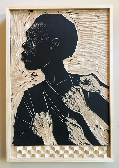 To Be Free (woodblock)