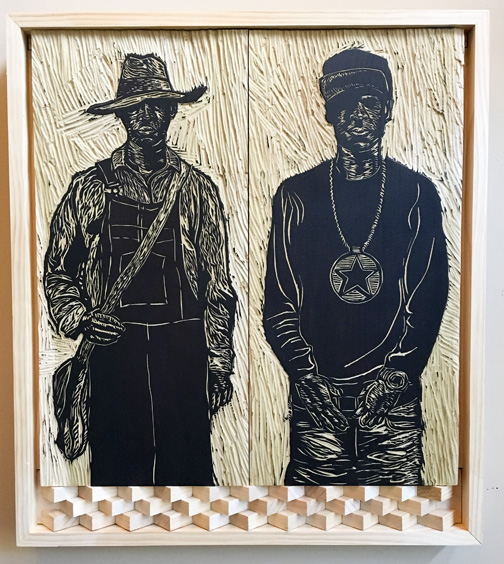 Same Song, Different Day (woodblock)