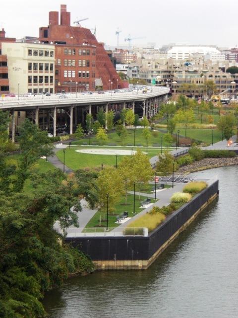 Georgetown Waterfront Park, Washington, DC