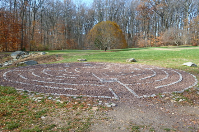 Labyrinth at Brookside Gardens in Wheaton MD