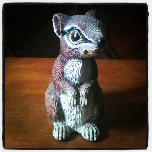 Squirty The Squirrel - Patron saint of unknown indie music.