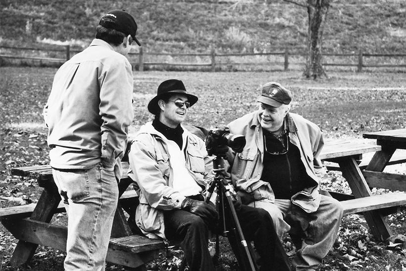 Glen Darling, Kip May, and John Sanders Photo: Mary Hambly