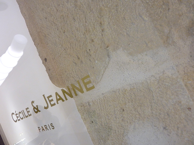 Cecile et Jeanne - Fashion accessories storesPlace des VosgesRue Saint-HonoréParis2013