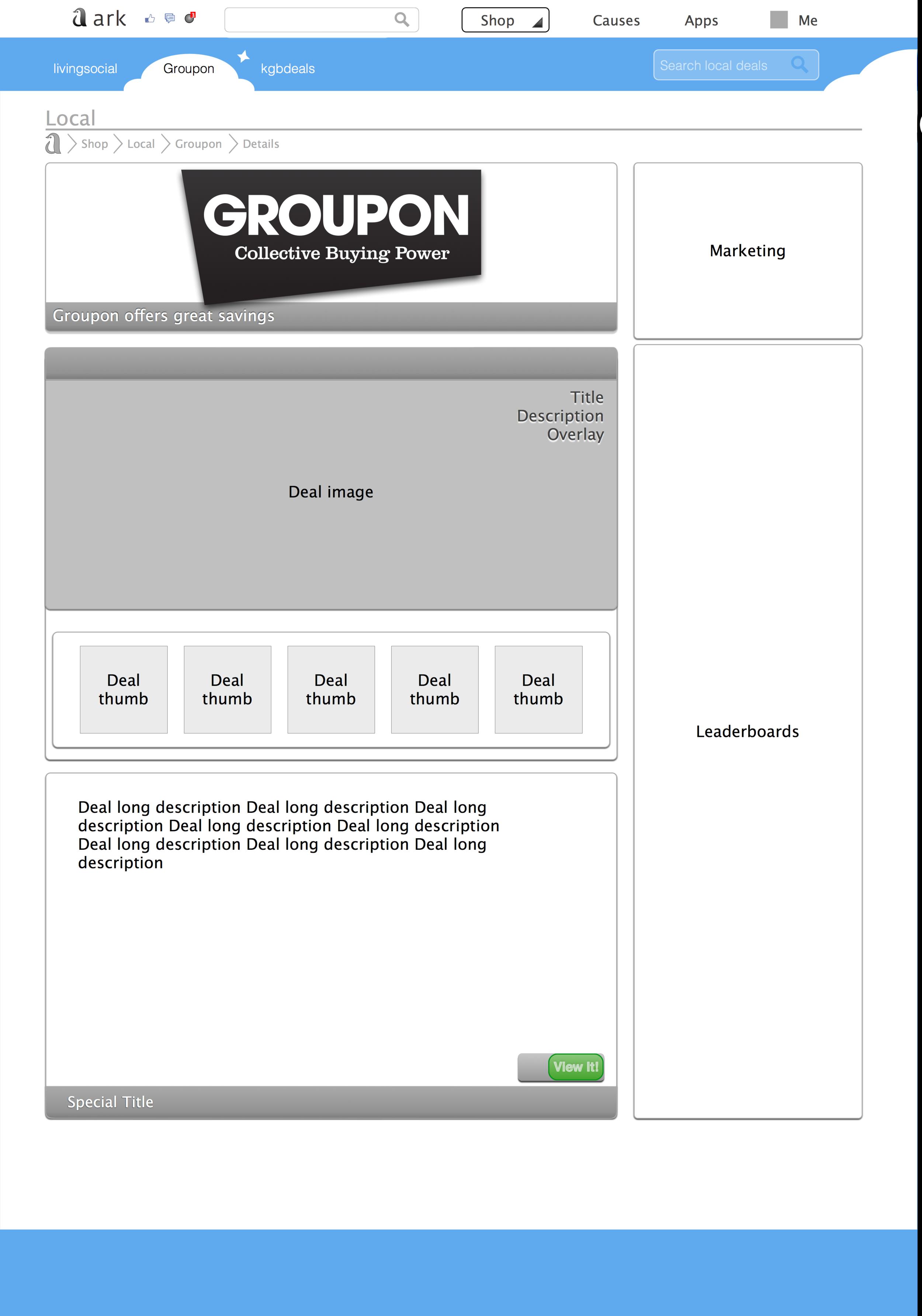 Groupon Details